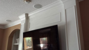 crown molding and trim