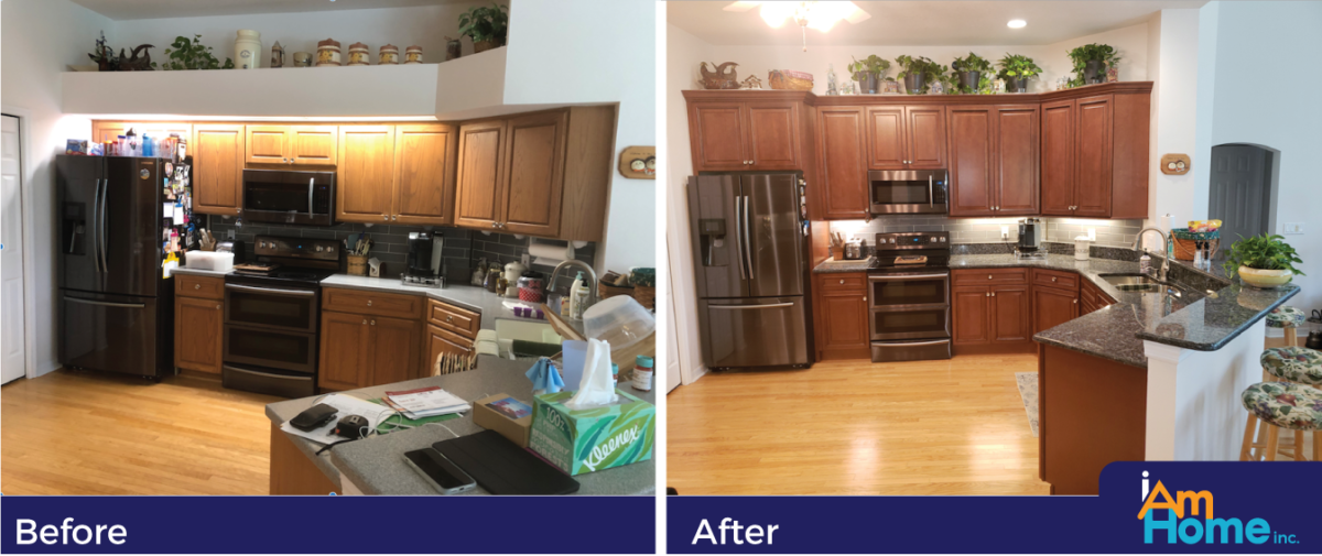 Gary & Peggy A. Kitchen - Before and After